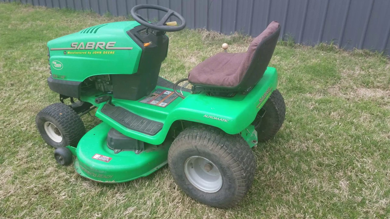 John Deere Sabre >> John Deere Sabre 15 5 Hp 42 Deck Lawnmower