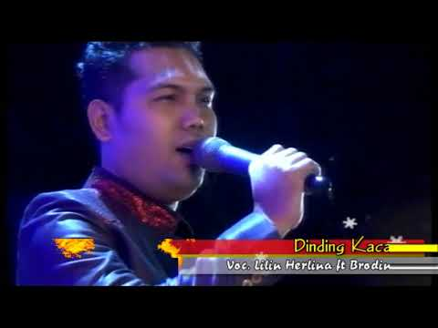 Lilin Herlina ft Brodin -  Dinding Kaca Live Tegal
