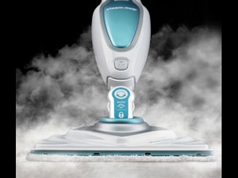 Recensione scopa a vapore black decker steam mop youtube for Clatronic scopa a vapore