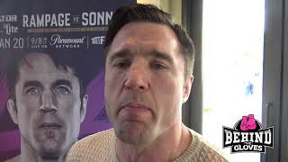 Chael Sonnen on Taking Rampage to the Ground & Why the Grand Prix Tournament Makes Sense