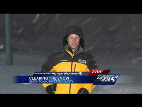 Uniontown residents weather the storm