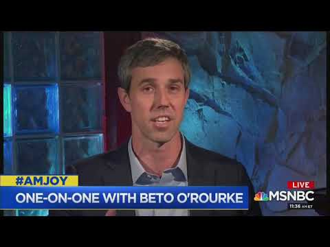 Beto O'Rourke: 'I don't have complete confidence' Trump was elected fairly