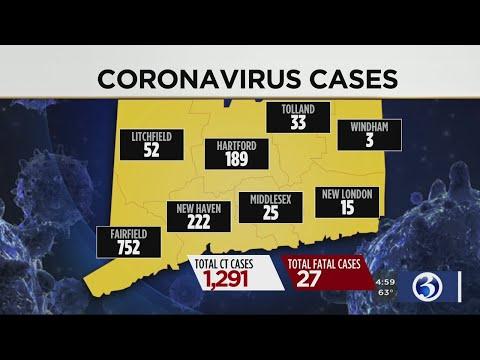 VIDEO: COVID-19 cases continue to climb in CT
