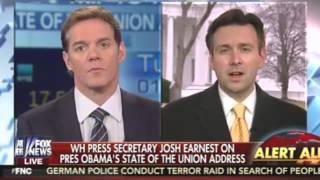 Josh Earnest: Because of Obama