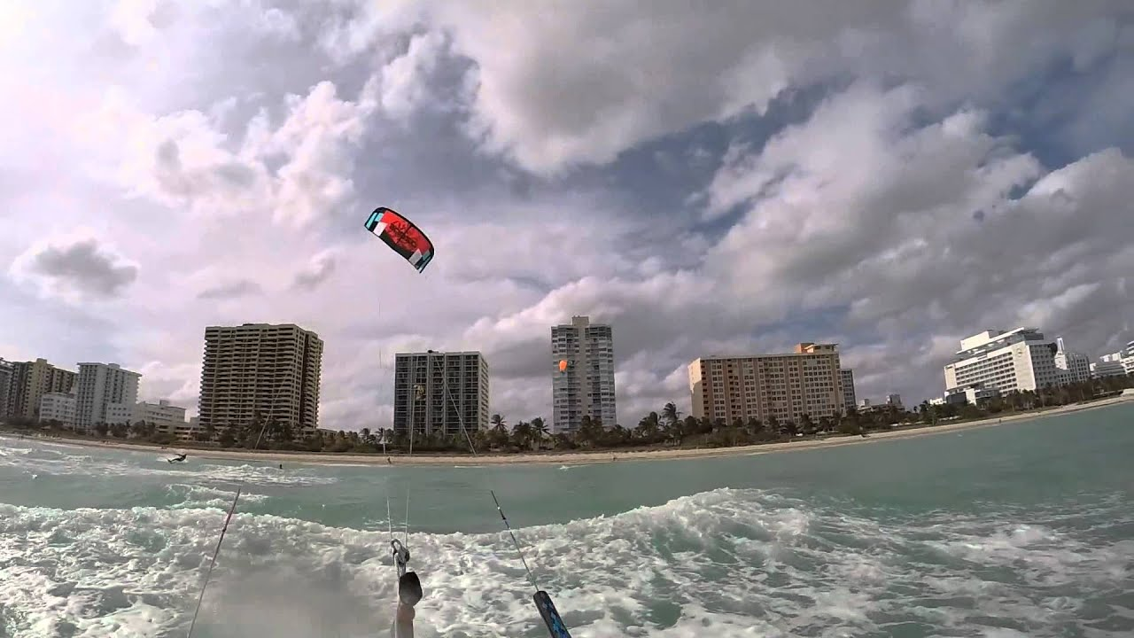 Kitesurfing Session Miami Beach You