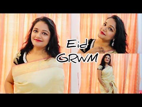 Kuwait Lifestyle || Eid Mubarak || GRWM for Eid 2019 || Makeup tutorial for Eid Festival | thumbnail