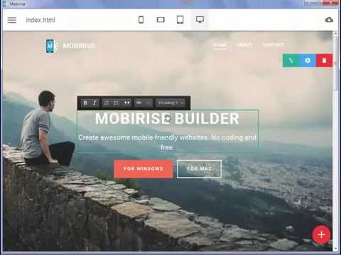 Make responsive sites! - Amazing Mobile Website Builder