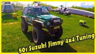 Old Japan SUV Suzuki Jimny Documentary 2018. History of Suzuki Jimny 80s. SUVs 4x4