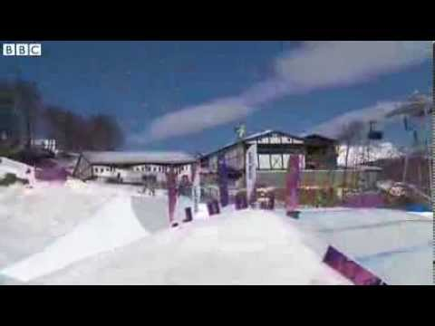 Sochi 2014 Mens Snowboard Slopestyle - Sage Kotsenburg Gold Medal Run (VIDEO)