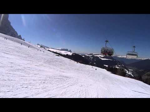 Alpine skiing 2 - santa cristina valgardena.