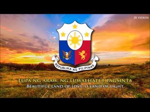 National Anthem of the Philippines PHEN lyrics