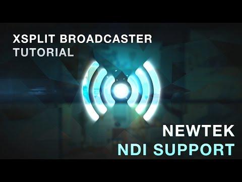 NewTek NDI Support