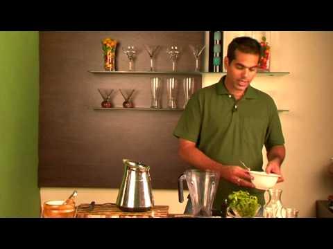 Mocha Mint Slush (Coffee and Mint Drink)