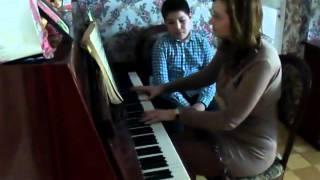 Уроки игры на фортепиано Урок № 5 Ученик Эльдар. Тема урока