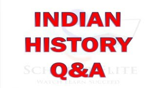 MCQ of History Part 3 for RRB and SSC CGL and all other competitive Exams