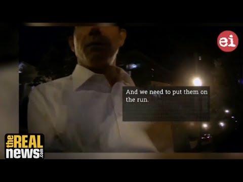 Leak From Censored Israel Lobby Film Exposes Anti-Palestinian Operatives