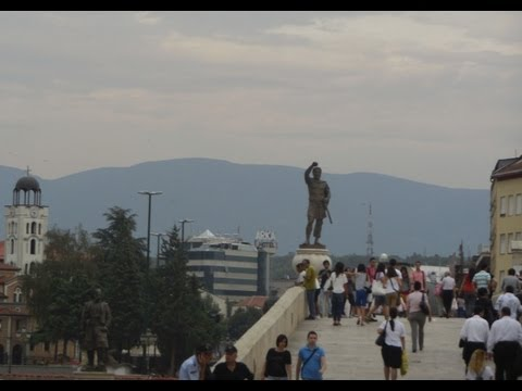 Exploring Skopje, Macedonia on Your Own