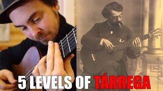 The GODFATHER of GUITAR: TÁRREGA