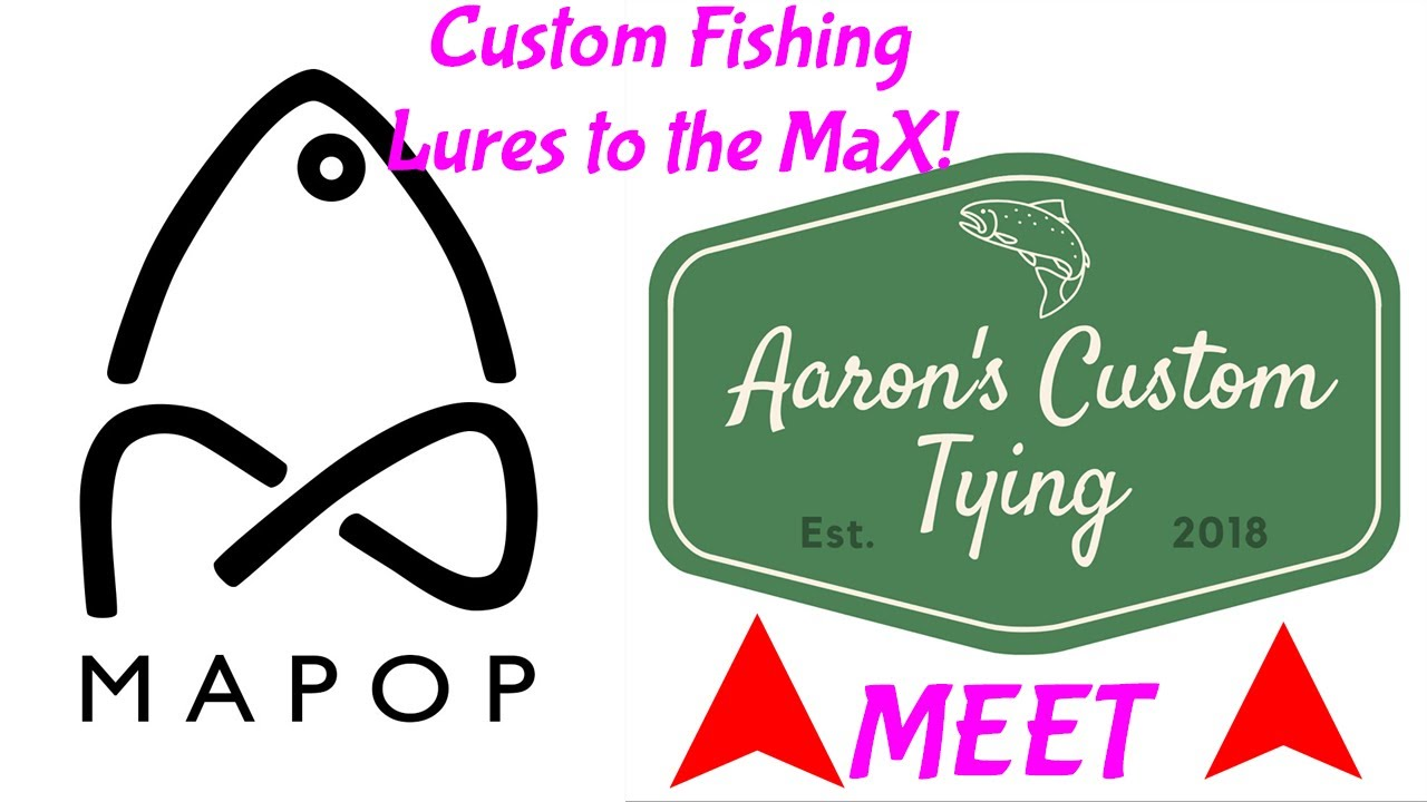 Aaron's Custom Tying Interview with MaPop Fishing - Custom Fishing Lures