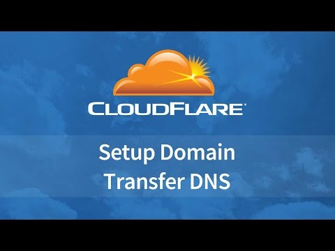 How to Setup Cloudflare​ Free DNS Management