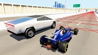 200 Spike Strip Challenge #3 – BeamNG Drive Crash Testing | CrashBoomPunk