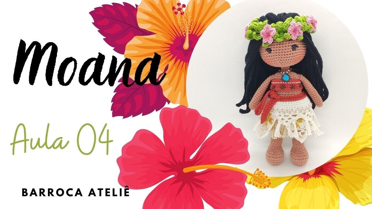 AULA 4 - MOANA (Coleção Princesas Barroca Ateliê)