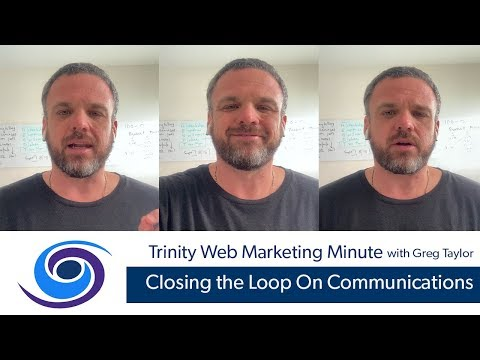 Closing The Loop On Communications