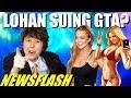 NEWSFLASH! Lindsay Lohan Suing Rockstar Games?