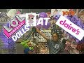 L.O.L DOLLS AT CLAIRES & SHOUT OUT /TOY HUNT/TOKIDOKI & NEW JOJO BOWS BLIND BAGS