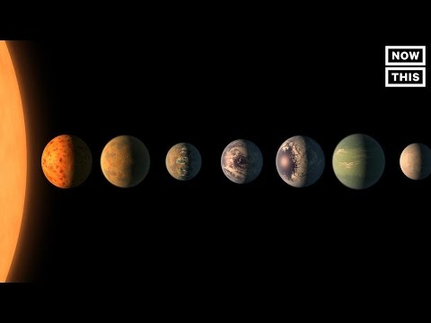 NASA Scientists Discovered Seven Earth Sized Planets Orbiting A Star Near Our Solar System