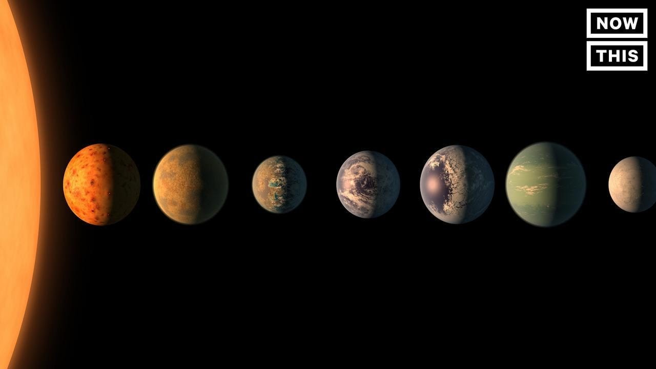 NASA Scientists Discovered Seven Earth Sized Planets ...