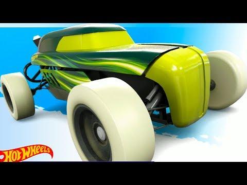 МАШИНЫ МОНСТРЫ #4 ХОТ ВИЛС Игровой мультик про машинки гонки на цветных тачках машинах #МАШИНКИКИДА