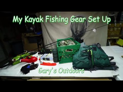 My Kayak Fishing Gear Set Up Ep.2018-07