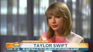 Taylor Swift - Entrevista no Today Show Australia (LEGENDADO)