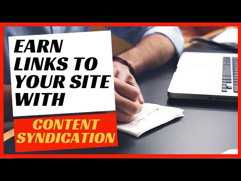 Should you use content syndication in your white hat SEO link building strategy?