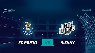 LIVE 🔴 - FC Porto v Nizhny Novgorod - Qualification Round 1 - Basketball Champions League 2018-19