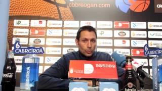 Video Rueda de prensa previa de Lezkano al Cafés Candelas Breogán Calzados Robusta