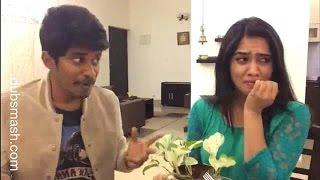 Tamil Real Couple Arun sanjana New Dubsmash _oru kal oru kannadi movie scenes