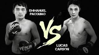 Emmanuel PACQUIAO Jr. vs Lucas CARSON [Official Full Fight]