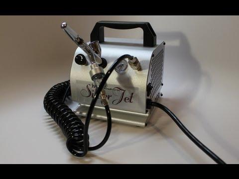 Iwata Studio Series Silver Jet Airbrush Compressor by Iwata