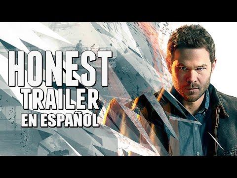 QUANTUM BREAK (Honest Game Trailers en Español) |