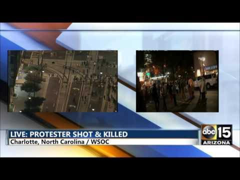 LIVE: Charlotte North Carolina Protest at UNCC - Officer involved shooting - Black lives matter