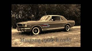 """Mustang 66 k code drive - 289hp Shelby with """"Le Mans"""" cam"""