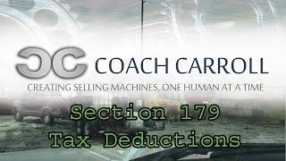 Small Business Taxes | 179 Deduction