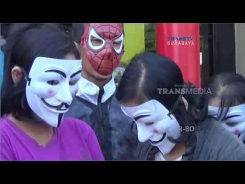 Petugas Polrestabes Surabaya Gerebek Panti Pijat