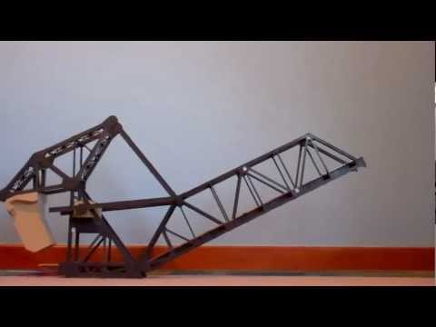 Walthers HO Scale Bascule Bridge In Action