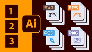 Convert Vector Icons to Vector SVGs and Layered PSDs From Adobe Illustrator