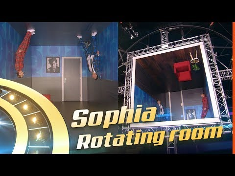 Bruno Mars - Grenade Cover By: Sophia   ROTATING ROOM  FINALE