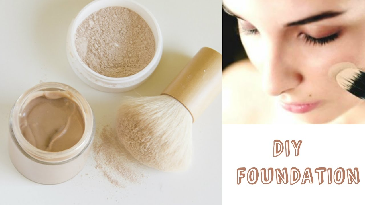 Wonderful DIY | How To Make Compact Powder And Foundation At Home