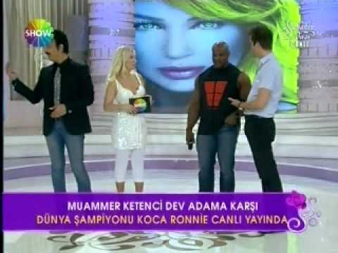 Ronnie Coleman Live in Istanbul on Seda Sayan Show 26.April 2011 PartI